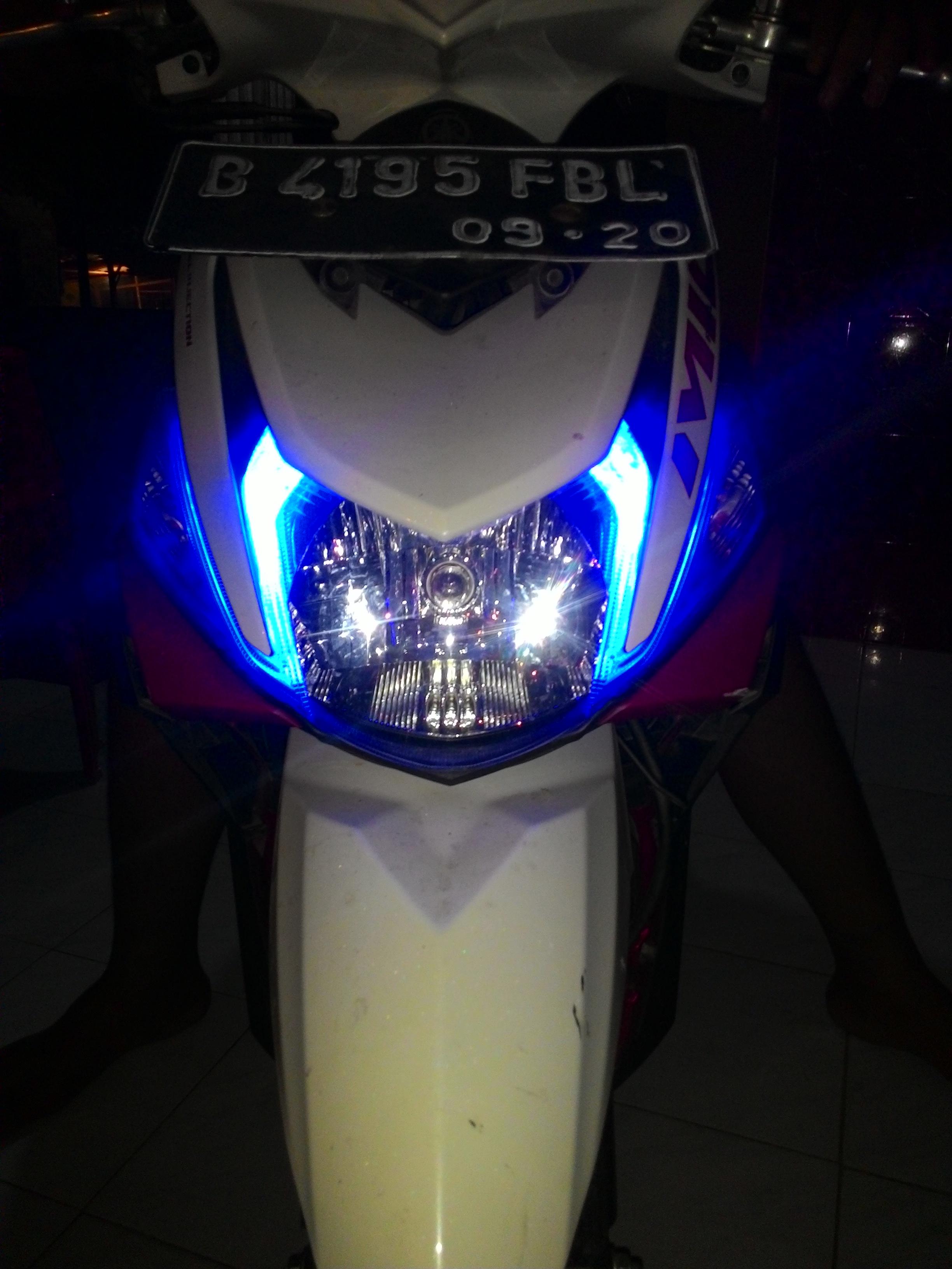 Mudahnya Seting Jarak Pijar Lampu Yamaha Mio M3 125 Cuma Modal