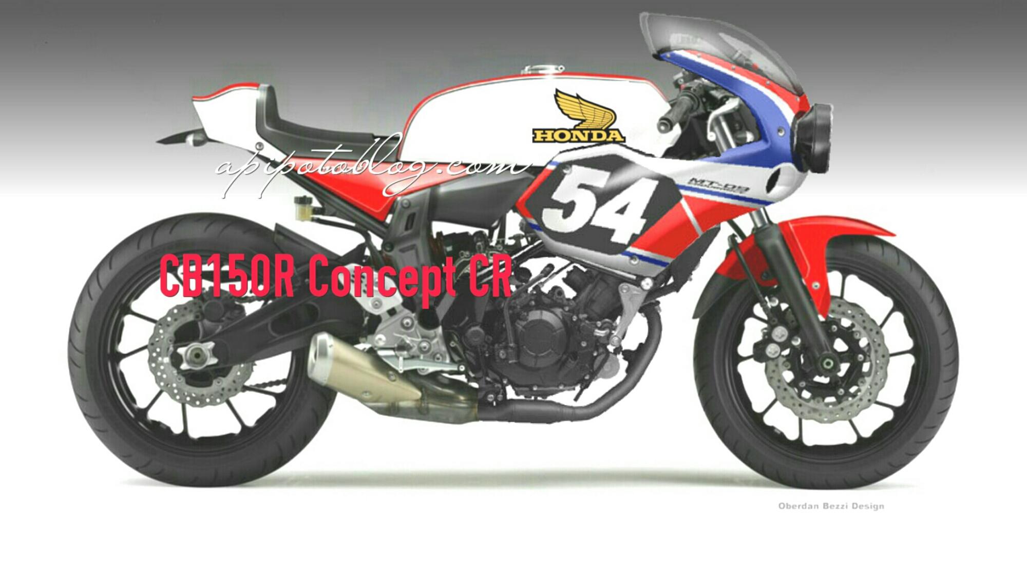 Honda CB150R Konsep Neo Cafe Racer Half Fairing Keren Nih