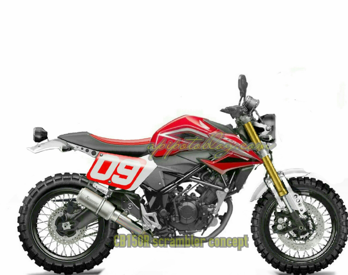 Honda All New CB150R Scrambler.. ?