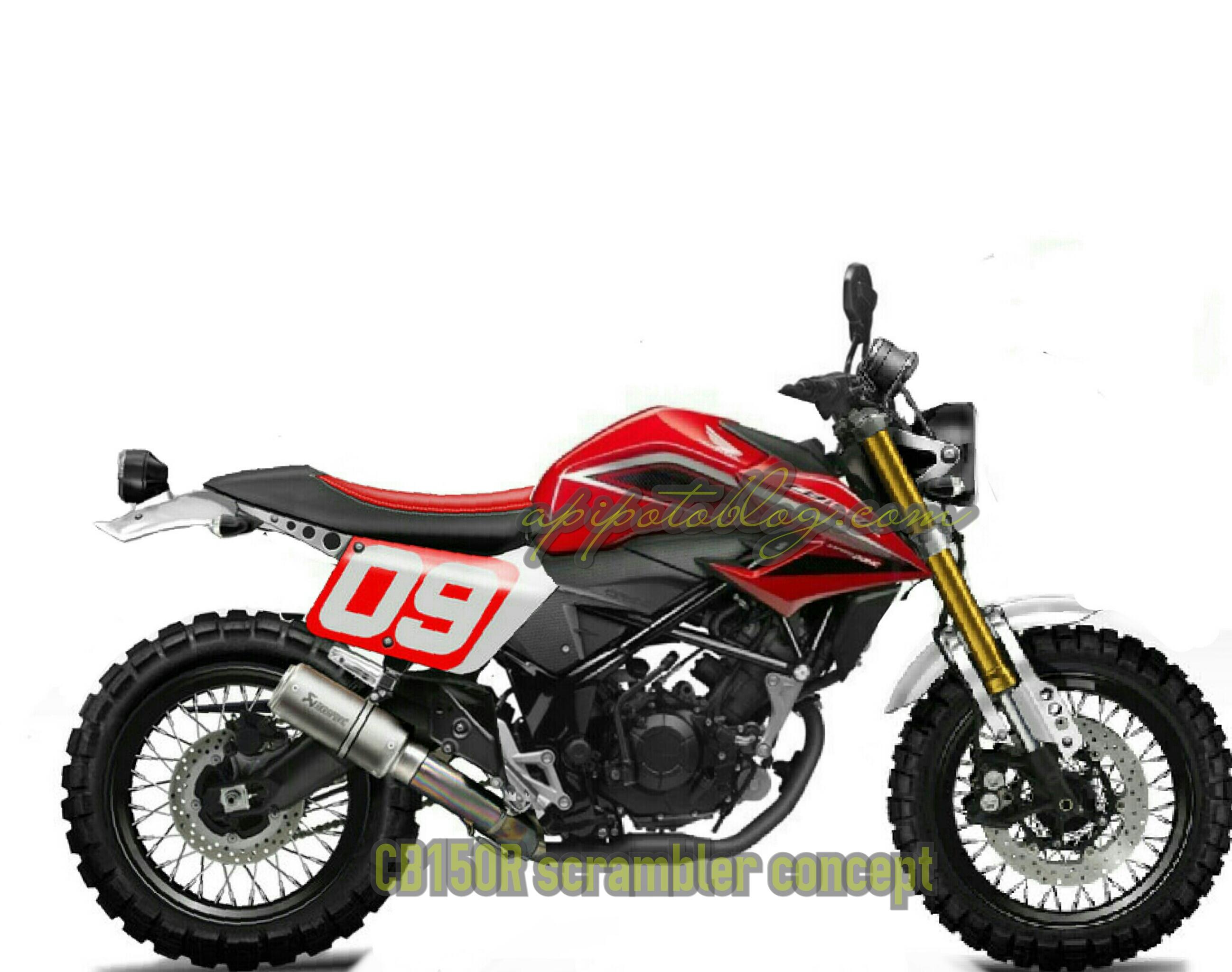 Modifikasi Motor Suzuki Jadul >> Honda All New CB150R Scrambler.. ? | Apipotoblog.com