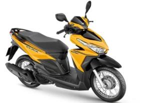 Honda vario jari-jari warna kuning