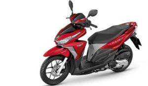 Honda vario merah grey
