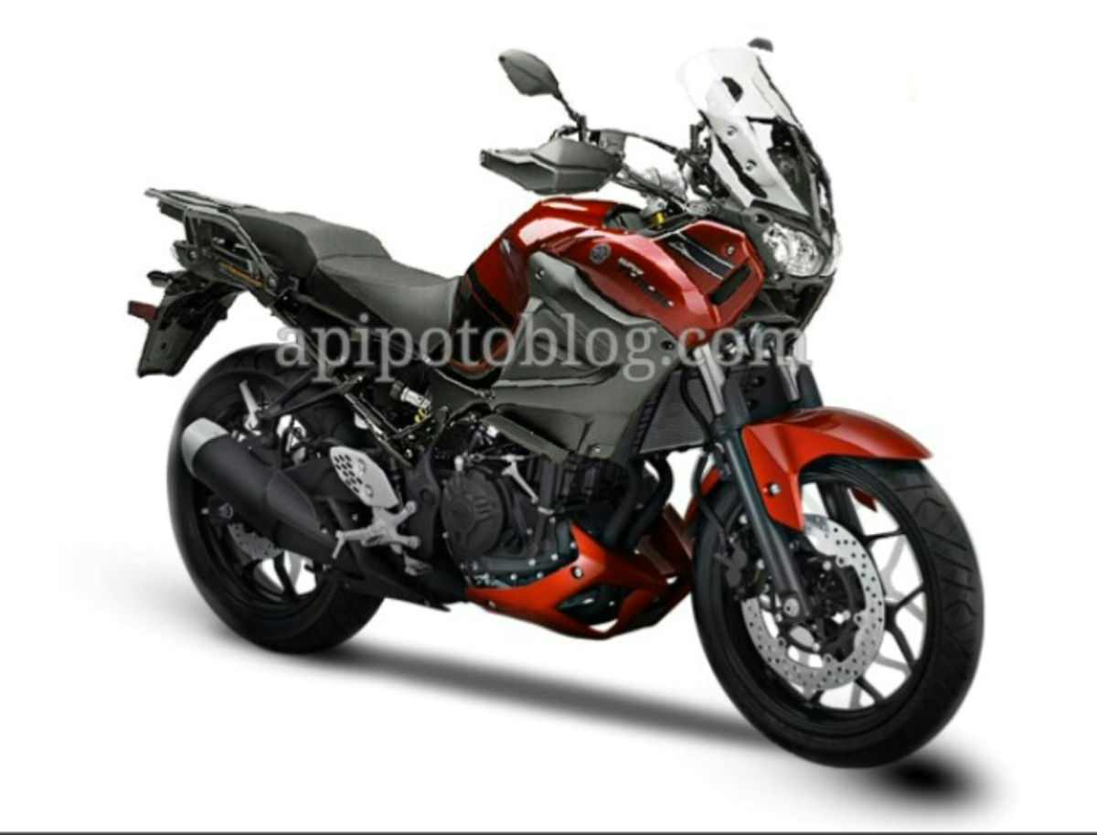 Yamaha Tenere 250 mesin R25/MT25 ,adventure tourer 250cc 2 silinder ..!
