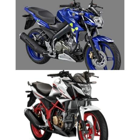 Yamaha vixion vs cb150r