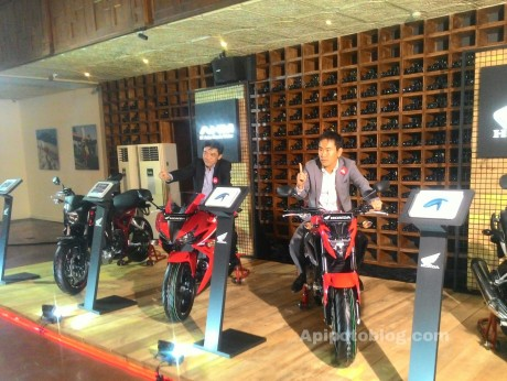launching big bike