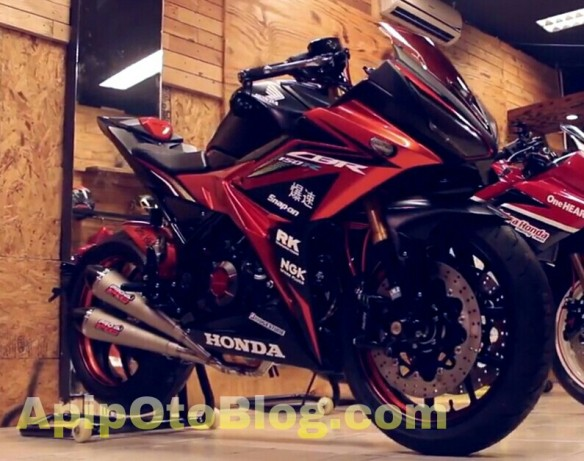 Modifikasi CBR150R eksklusif