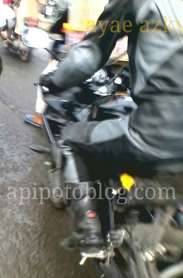Spy shot yamaha R15 Facelift