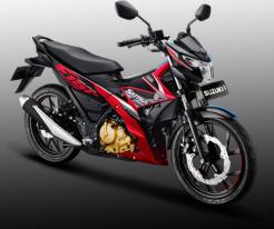 suzuki-satria-f150-warna-stronger-red-titan-black
