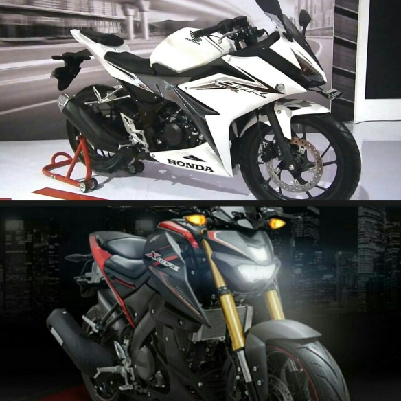 xabre dan all new CBR150R