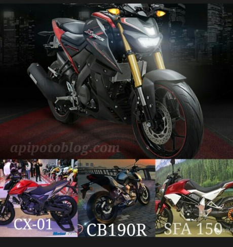 Xabre vs sfa vs cb190r vs cx-01