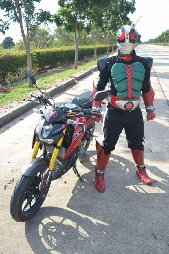 Yamaha xabre kamen rider 2