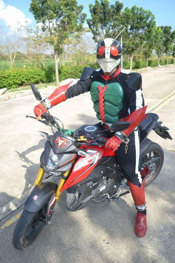 Yamaha xabre kamen rider 5