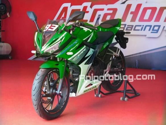 CBR150R hijau