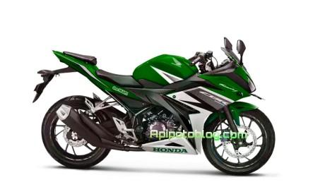 CBR150R terbaru warna hijau