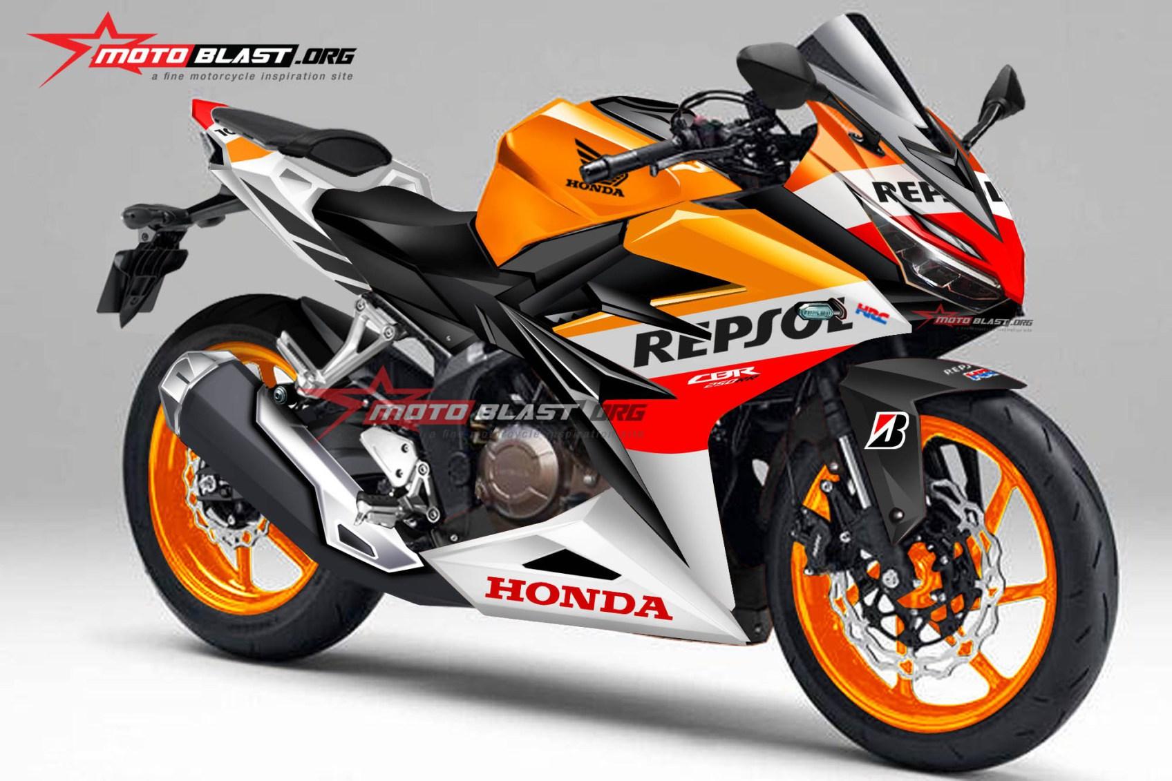 Koleksi Modifikasi Motor New Honda Blade Repsol Terlengkap Krezek