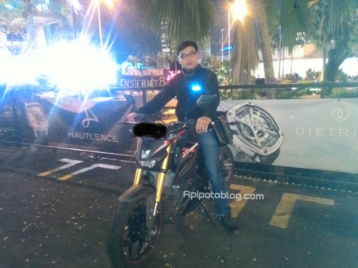 Posisi Riding Yamaha Xabre Dari Tinggi Rider 180cm Sampai 160cm Plus Boncengan