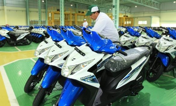 Honda beat dipabrik