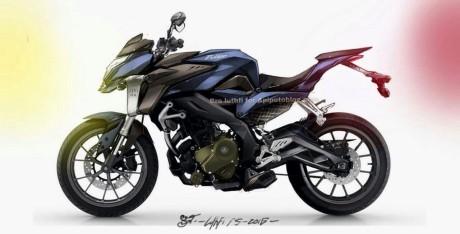 Kawasaki 200NS facelift Gen2