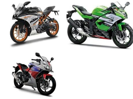 komparasi motor 250cc