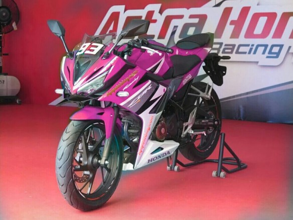 new cbr warna pink