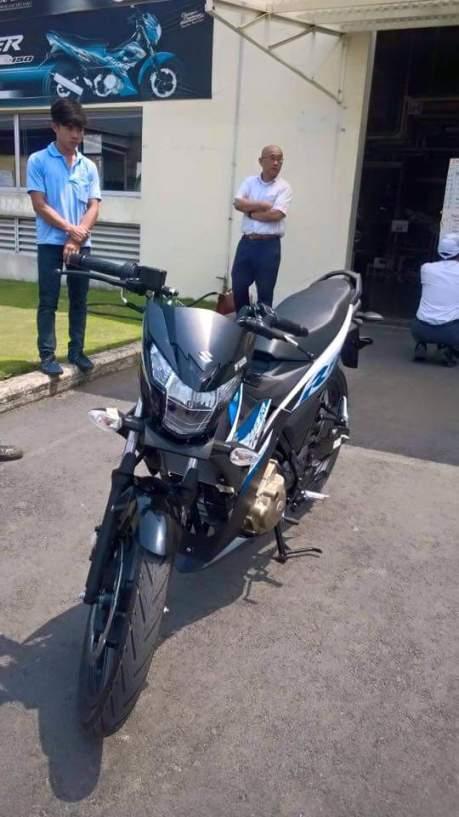 New Suzuki rider 150 fi