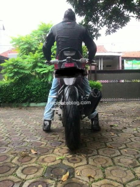 Posisi rider yamaha xabre 160cm_1