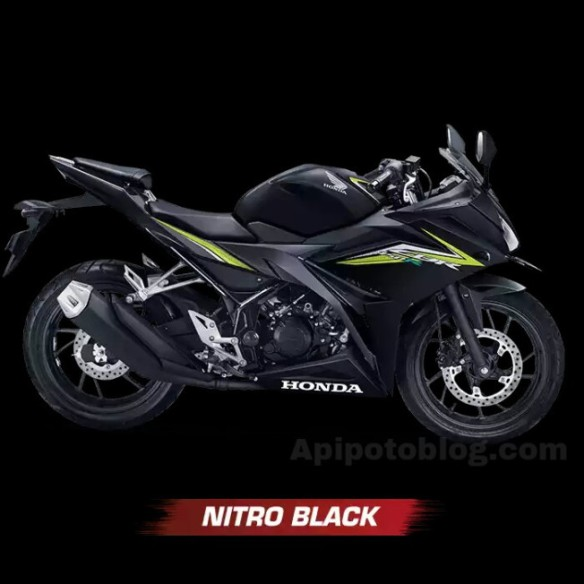 Warna All New Honda CBR150R 2016 Niro Black