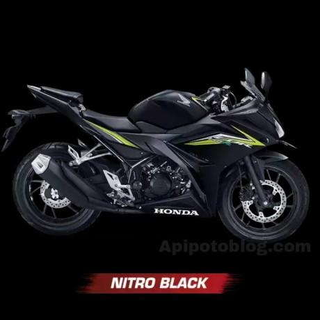 Warna All New Honda CBR150R 2016Niro Black