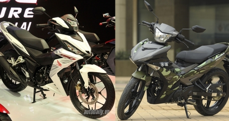 Honda supra x150 vs yamaha mx king