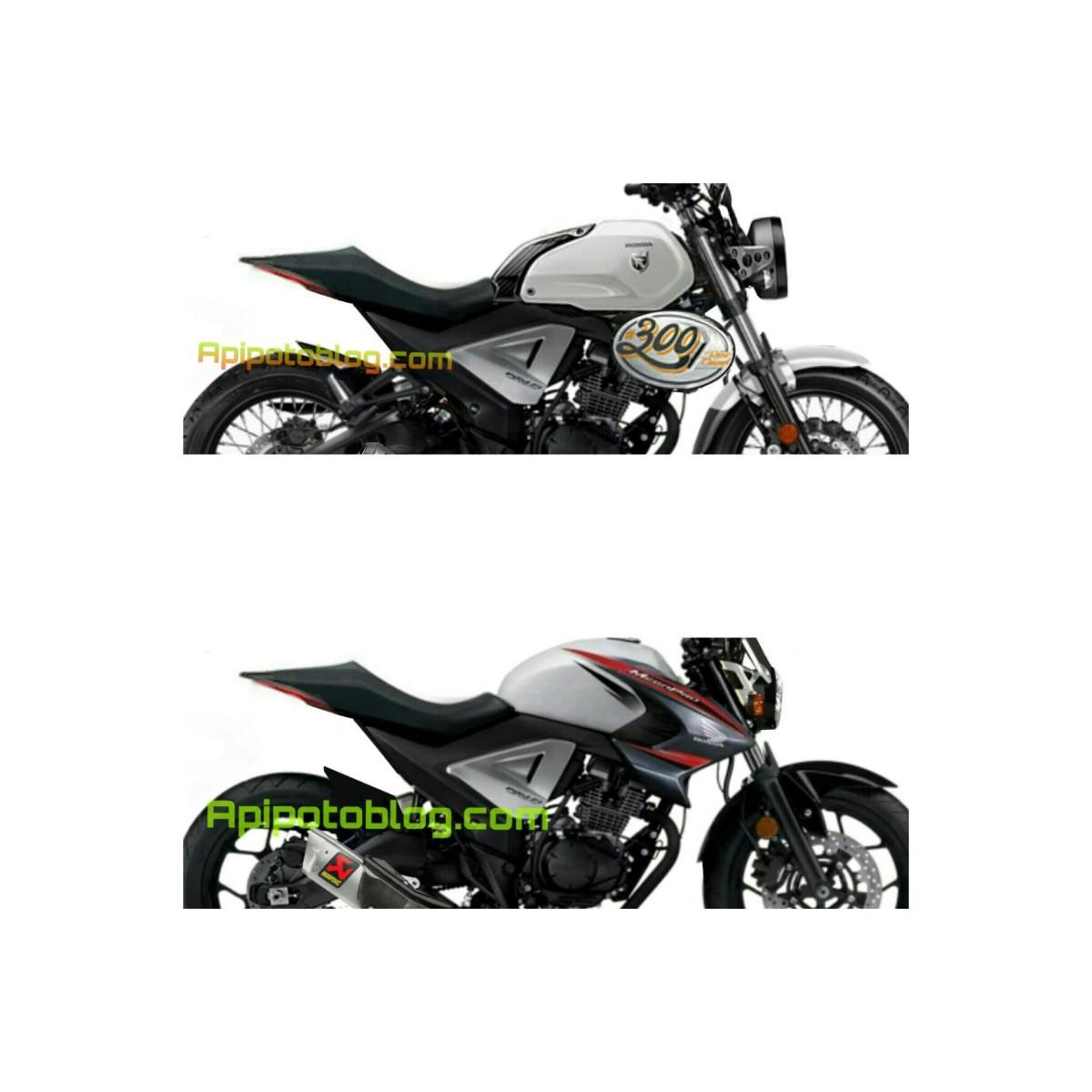 Ganti Rupa, Honda New Maga Pro Jadi Scrambler Modern