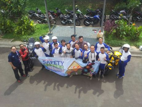 Safety riding Wahana Makmur Sejati 01
