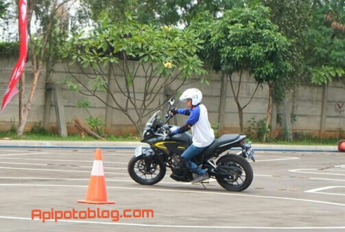 test ride CB500X 5