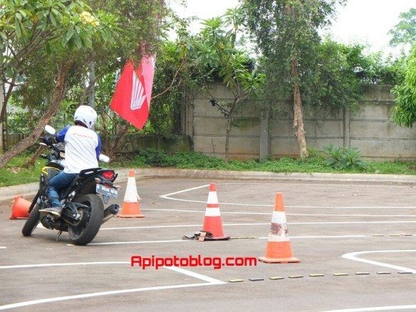 test ride CB500X 8