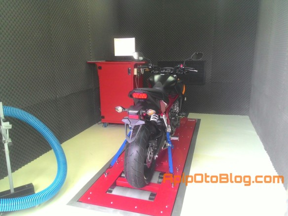 Dyno Test HONDA Big Wing