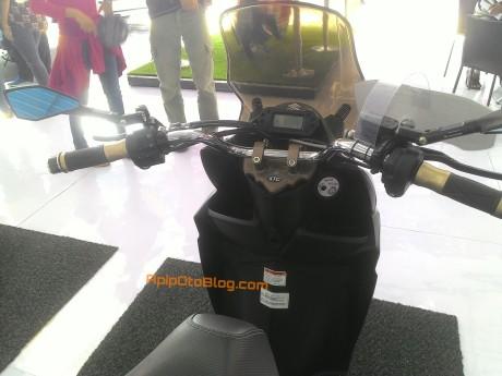 modifikasi stang telanjang motor matik