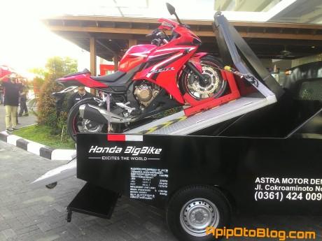 pengiriman motor big bike honda