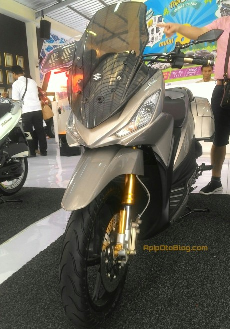 suzuki address modifikasi