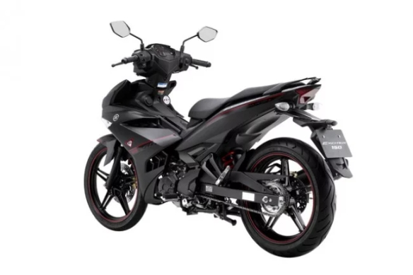 Yamaha Exciter 150 Update Warna Hitam Dof Di Vietnam,MX King Warna Matte Black Nih..!