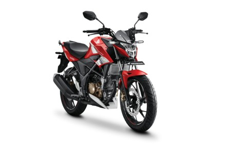 All new cb150r astra merah baru