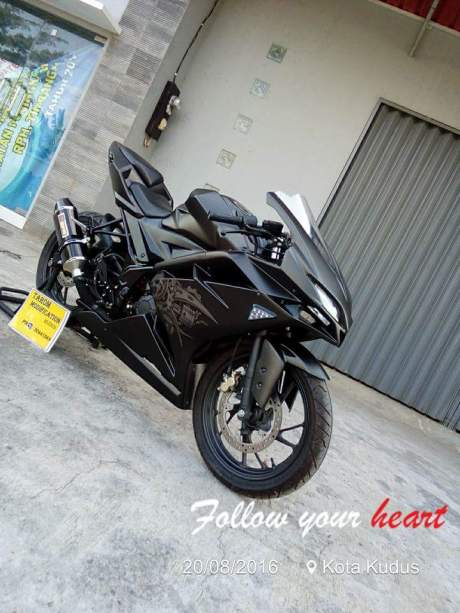 Modifikasi CB150R fairing 3