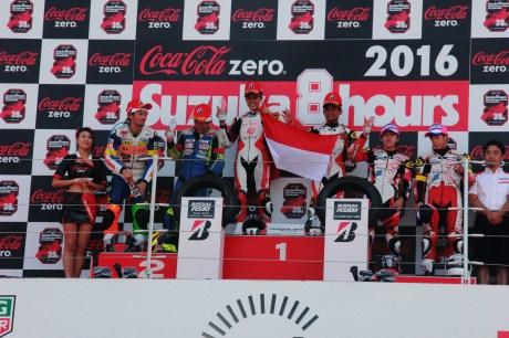 Pembalap indonesia raih podium